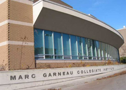 Marc Garneau Collegiate Institute's Pick Up Location